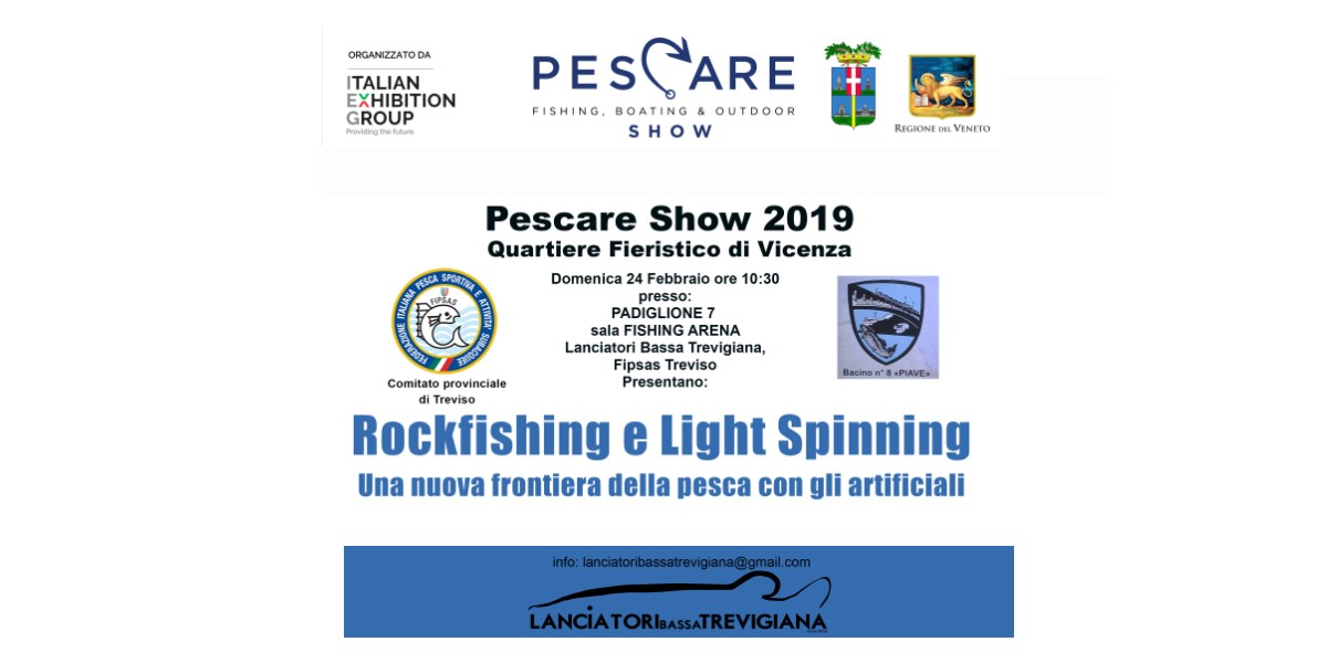 ROCK FISHING E LIGHT SPINNING A PESCARE SHOW