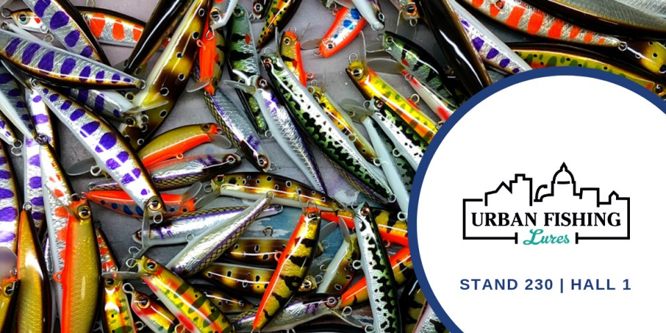 GLI ESPOSITORI DI PESCARE SHOW: URBAN FISHING LURES