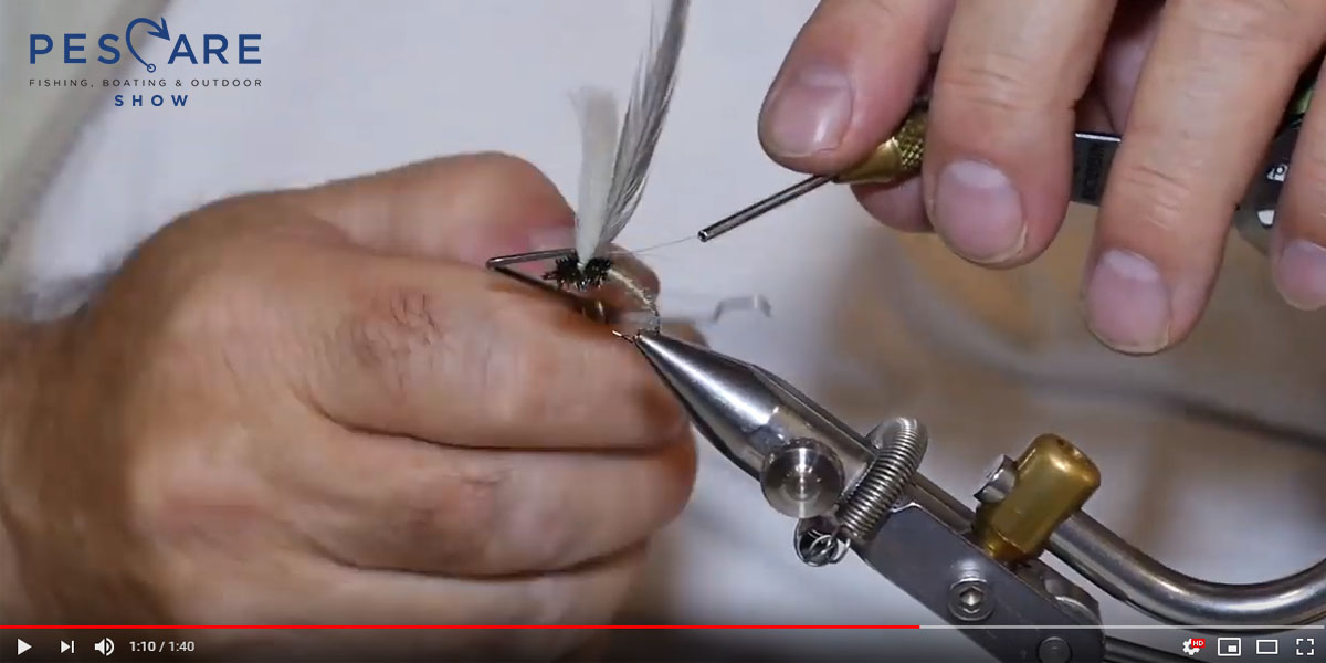 TUTORIAL FLY TYING: HANS VAN KLINKEN