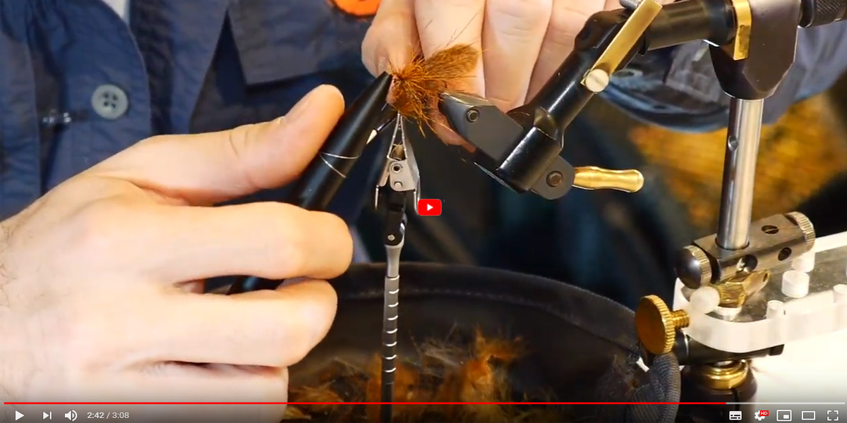 TUTORIAL FLY TYING - LUCA BAROSSELLI